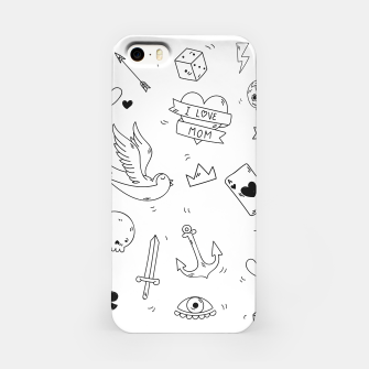 Miniature de image de Pop Culture Art / Old School Tattoo iPhone Case, Live Heroes