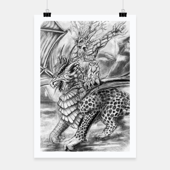 Thumbnail image of Dragon and Ent.. Friend or foes? Poster, Live Heroes