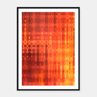 Thumbnail image of Muted Fire Framed poster, Live Heroes