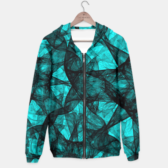 Thumbnail image of Fractal Art Turquoise G52 Hoodie, Live Heroes
