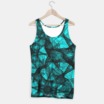 Thumbnail image of Fractal Art Turquoise G52 Tank Top, Live Heroes
