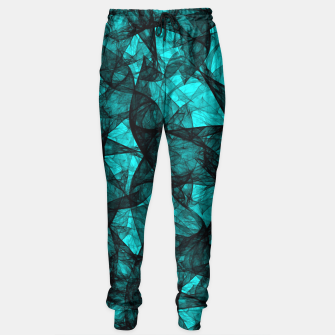 Thumbnail image of Fractal Art Turquoise G52 Sweatpants, Live Heroes