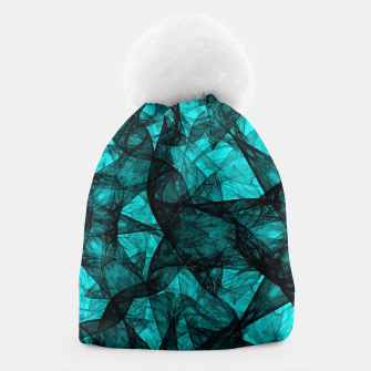 Thumbnail image of Fractal Art Turquoise G52 Beanie, Live Heroes
