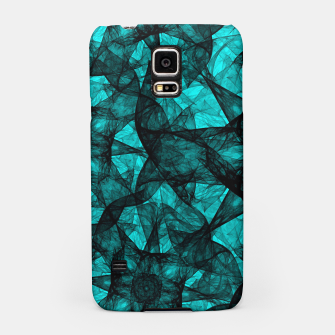 Thumbnail image of Fractal Art Turquoise G52 Samsung Case, Live Heroes