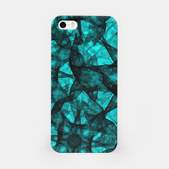 Thumbnail image of Fractal Art Turquoise G52 iPhone Case, Live Heroes
