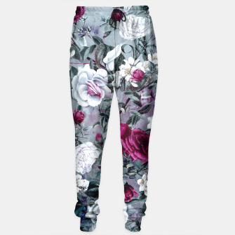 Thumbnail image of Botanical Flowers Sweatpants, Live Heroes