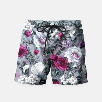 Thumbnail image of Botanical Flowers Swim Shorts, Live Heroes