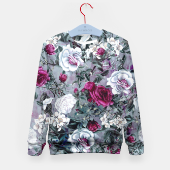 Thumbnail image of Botanical Flowers Kid's Sweater, Live Heroes