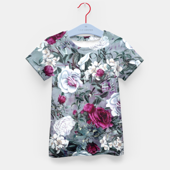 Thumbnail image of Botanical Flowers Kid's T-shirt, Live Heroes