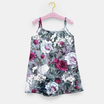 Thumbnail image of Botanical Flowers Girl's Dress, Live Heroes