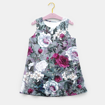 Thumbnail image of Botanical Flowers Girl's Summer Dress, Live Heroes