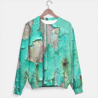 Green door Sweater obraz miniatury