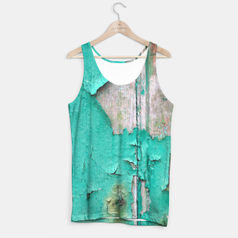 Green door Tank Top obraz miniatury