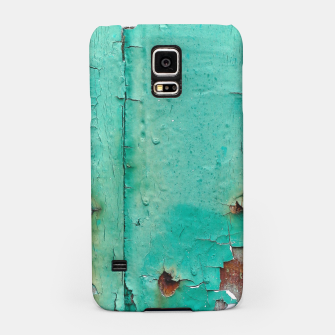Green door Samsung Case obraz miniatury