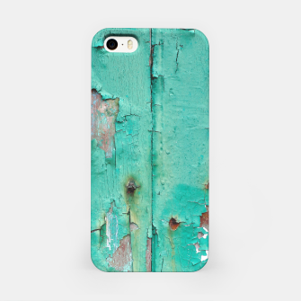 Green door iPhone Case obraz miniatury