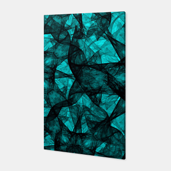 Thumbnail image of Fractal Art Turquoise G52 Canvas, Live Heroes