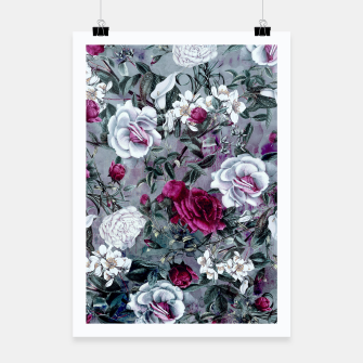 Thumbnail image of Botanical Flowers Poster, Live Heroes