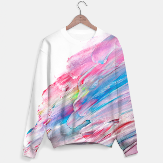 Imagen en miniatura de Colourful Oil Paint Fuchsia Sweater, Live Heroes