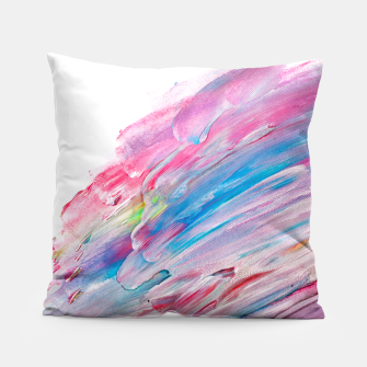 Imagen en miniatura de Colourful Oil Paint Fuchsia Pillow, Live Heroes