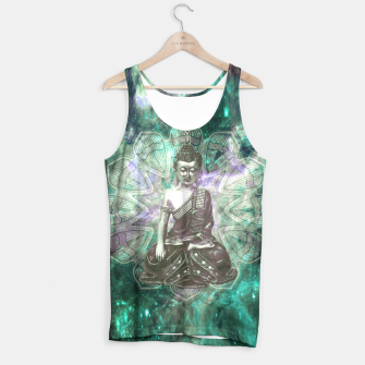 Miniatur Buddha Of the Universe Mandala Energy Muskelshirt , Live Heroes