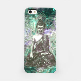 Miniatur Buddha Of the Universe Mandala Energy iPhone-Hülle, Live Heroes