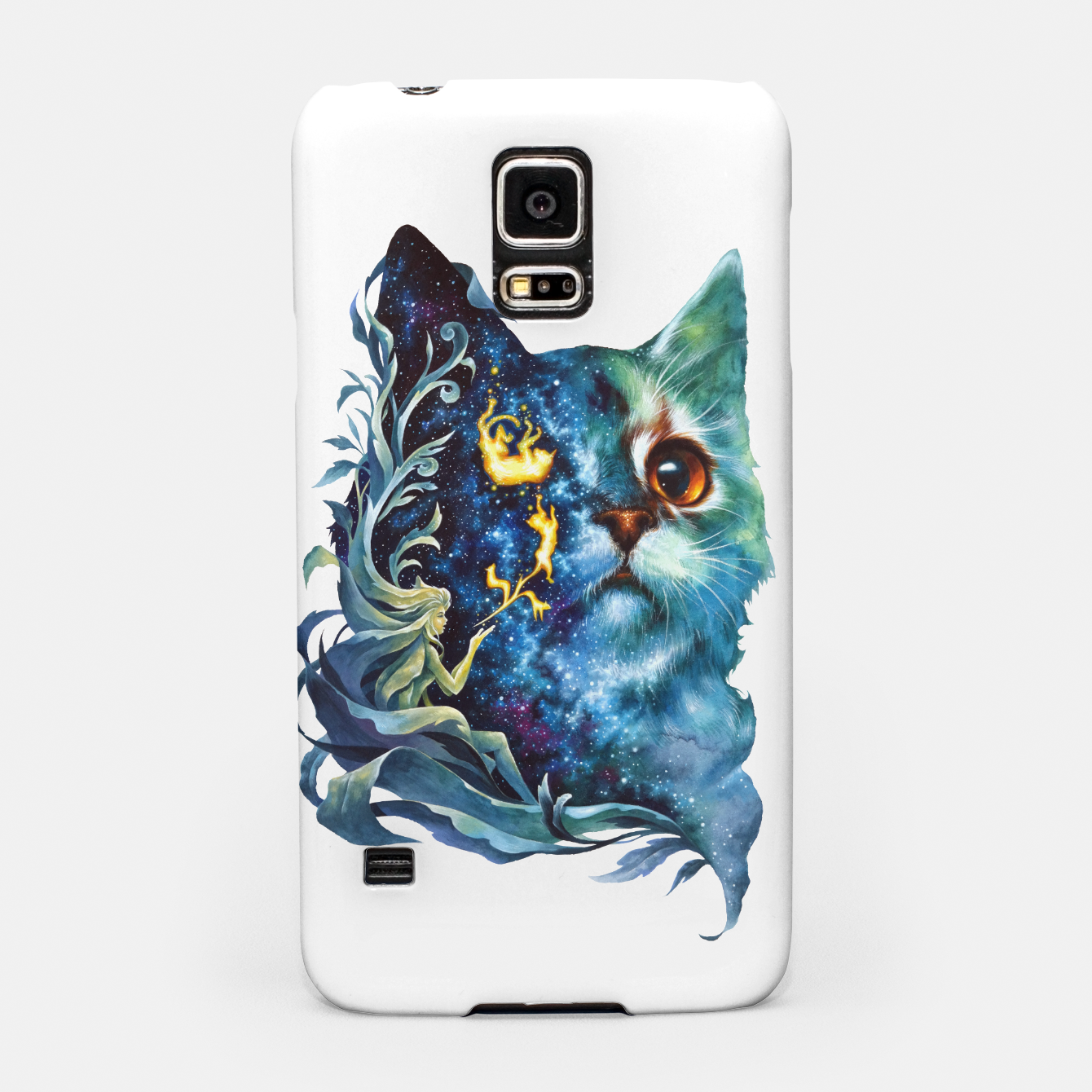 Image of cat .4 Samsung Case - Live Heroes