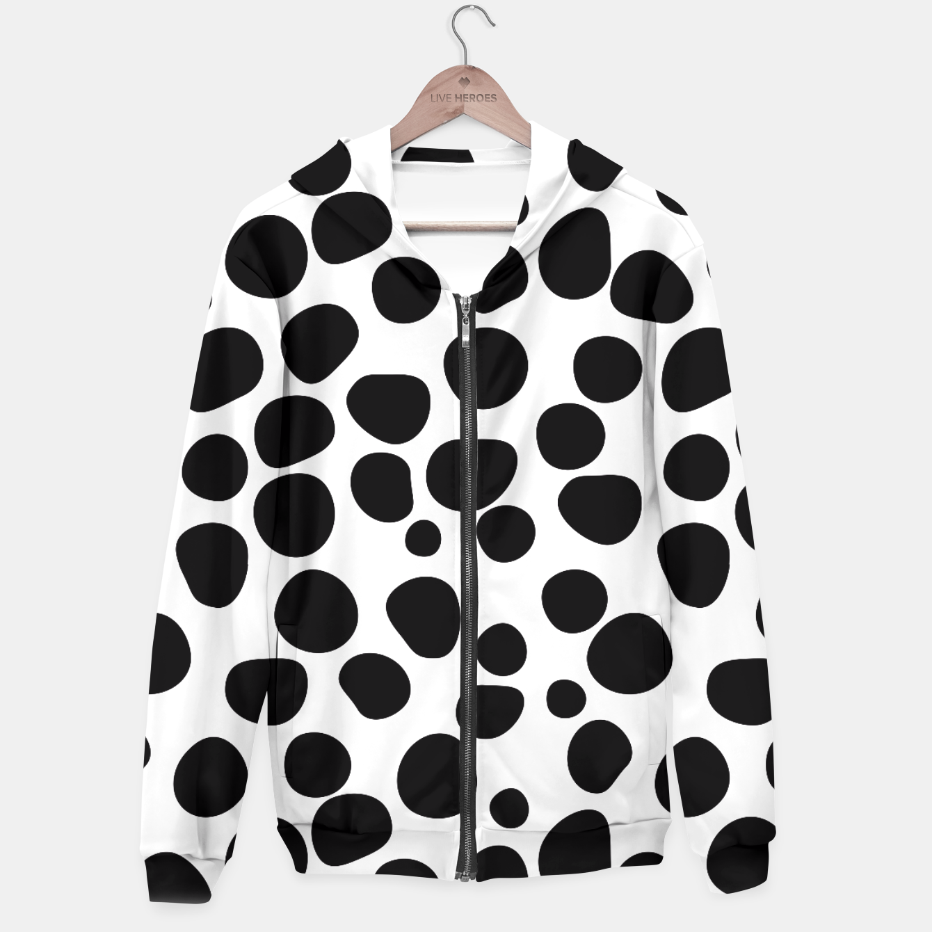 Image of Never Change Your Spots Hoodie - Live Heroes