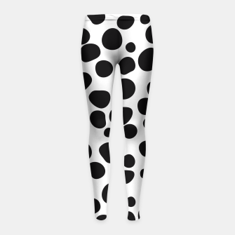Thumbnail image of Never Change Your Spots Girl's Leggings, Live Heroes