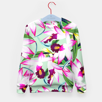 Thumbnail image of Belle âme Kid's Sweater, Live Heroes