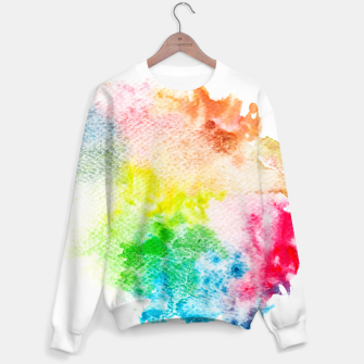 Miniatur Colorful Mix of Colors Sweater, Live Heroes