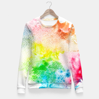 Imagen en miniatura de Colorful Mix of Colors Fitted Waist Sweater, Live Heroes