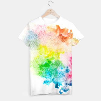 Miniatur Colorful Mix of Colors T-shirt, Live Heroes