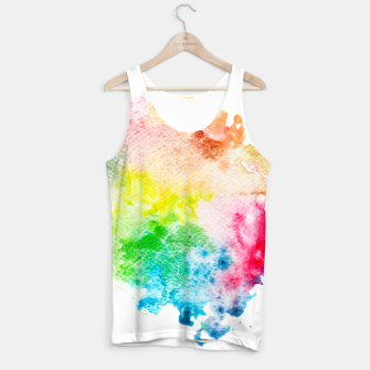 Miniatur Colorful Mix of Colors Tank Top, Live Heroes