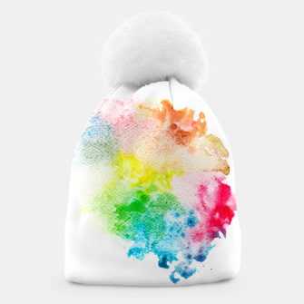 Miniatur Colorful Mix of Colors Beanie, Live Heroes