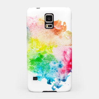Miniatur Colorful Mix of Colors Samsung Case, Live Heroes