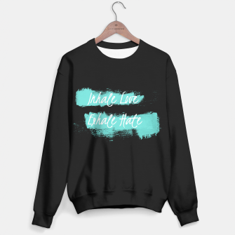 Miniatur inhale love Sweater regular, Live Heroes