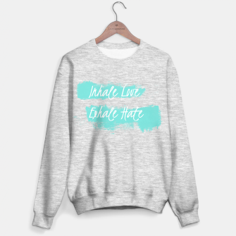 Miniature de image de inhale love Sweater regular, Live Heroes