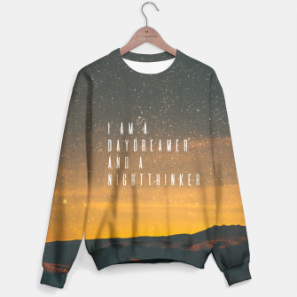 Thumbnail image of Dreamer and Nightthinker Sweater, Live Heroes