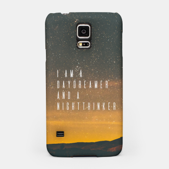 Miniatur Dreamer Samsung Case, Live Heroes