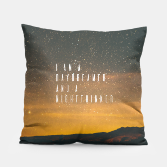 Thumbnail image of Dreamer Pillow, Live Heroes