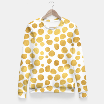 Thumbnail image of Gold Spots Fitted Waist Sweater, Live Heroes
