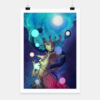 Miniatur Yggdrasil Poster, Live Heroes