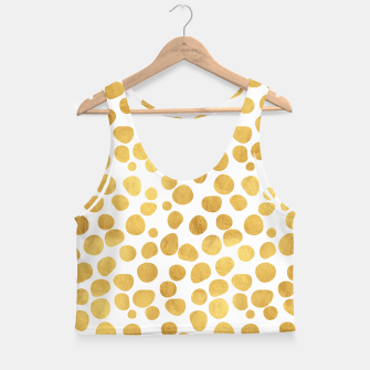 Thumbnail image of Gold Spots Crop Top, Live Heroes