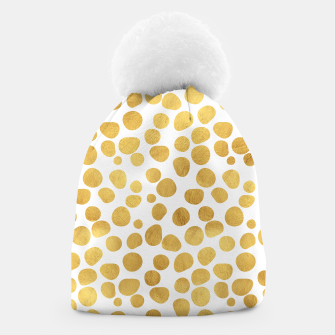 Thumbnail image of Gold Spots Beanie, Live Heroes