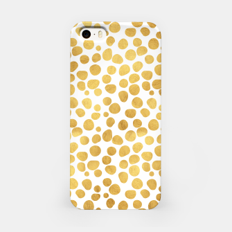 Gold Spots iPhone Case thumbnail image