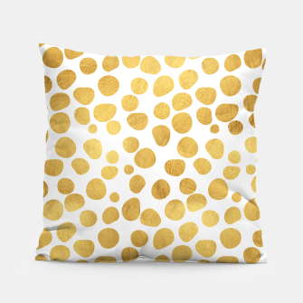 Thumbnail image of Gold Spots Pillow, Live Heroes