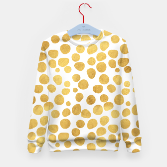 Gold Spots Kid's Sweater thumbnail image