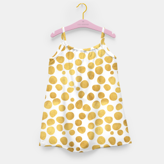 Thumbnail image of Gold Spots Girl's Dress, Live Heroes