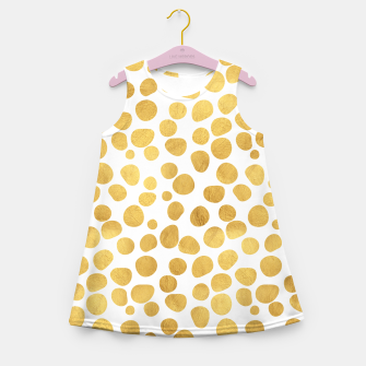 Thumbnail image of Gold Spots Girl's Summer Dress, Live Heroes
