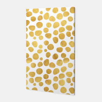 Thumbnail image of Gold Spots Canvas, Live Heroes